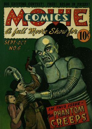 Cover for Movie Comics #6