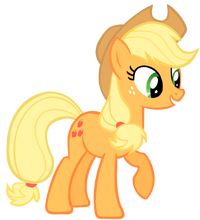 Applejack vector