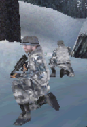 Brewer and vargas Avoid a patrol in MW3 DS