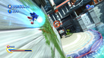 Sonic Generations @ Seaside Hill Wall Boost