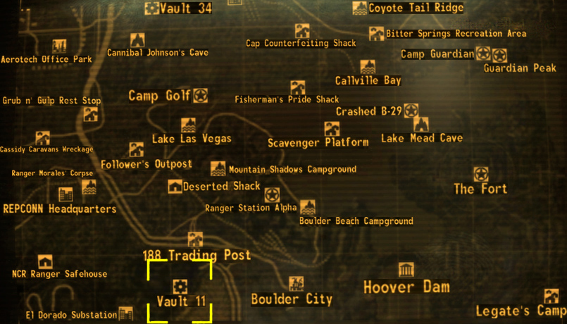 Vault 11 The Fallout wiki Fallout New Vegas and more