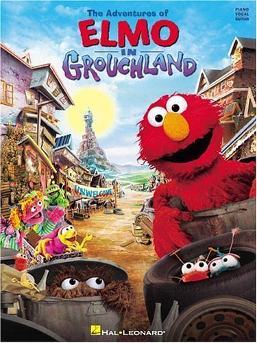 The Adventures of Elmo in Grouchland (sheet music book ...