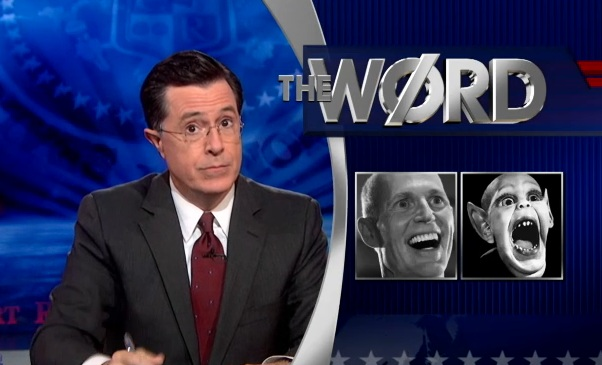 The colbert report gov bat boy