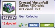 Crystal Waterfall Market Info (June 2012)