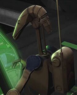 Unidentified B1 battle droid (Confederate space)
