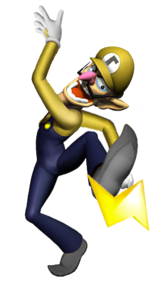 Thunder Waluigi