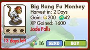 Big Kung Fu Monkey Market Info (June 2012)