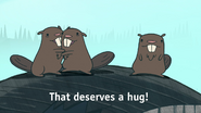 S1e2 beavers that deserves a hug