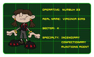 Numbuh 23 Profile