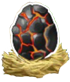 Dragon City Vulcano egg 70x82