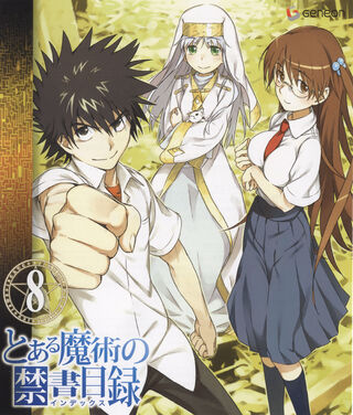 Toaru Majutsu no Index Blu-ray 08 cover