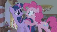Pinkie Pie and Twilight S1E09