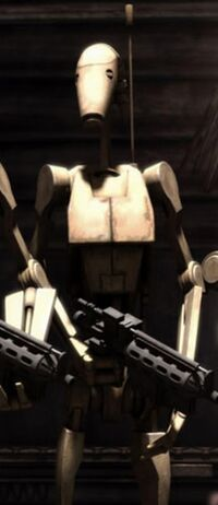 Unidentified B1 battle droid (Grievous's castle)
