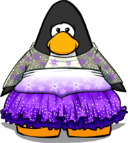 Snowy Sky Dress PC