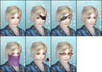 DW6E Female Facial Accessories