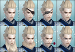 DW6E Male Facial Accessories