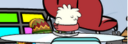 White Puffle playing (2)