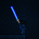 Terraria Using Blue Phaseblade