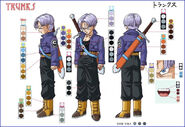 Trunks del futuro bofeto
