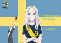 Mirajane and Lisanna in Sweeden