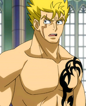 Laxus half naked