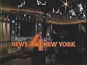 WNBC-TV's News 4 New York At 11's Weekend Edition Video Open From Saturday Night, October 18, 1986