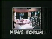 WNBC-TV's News 4 New York's News Forum Video Open From 1989