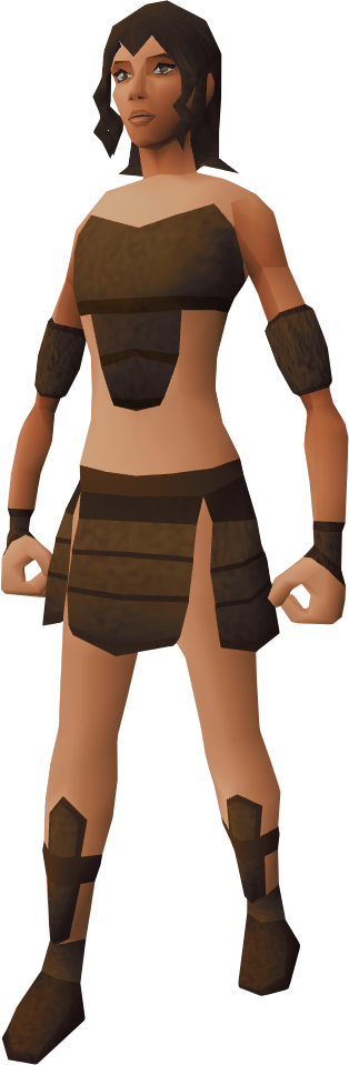Barbarian woman