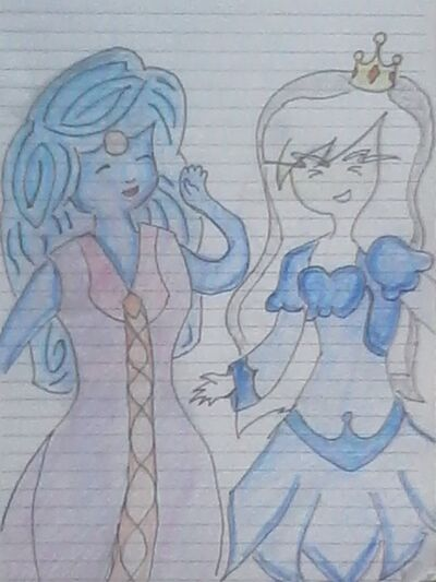 Water and ice princesses