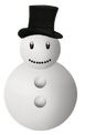 Snowman Happy