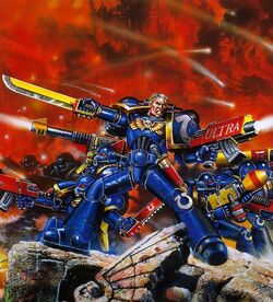 Ultramarines Attack J Blanche
