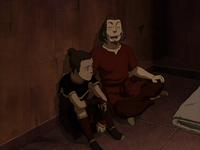 Sokka and Hakoda at the Boiling Rock