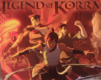 Art legend of korra