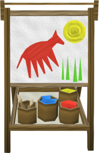 Philipe's painting set