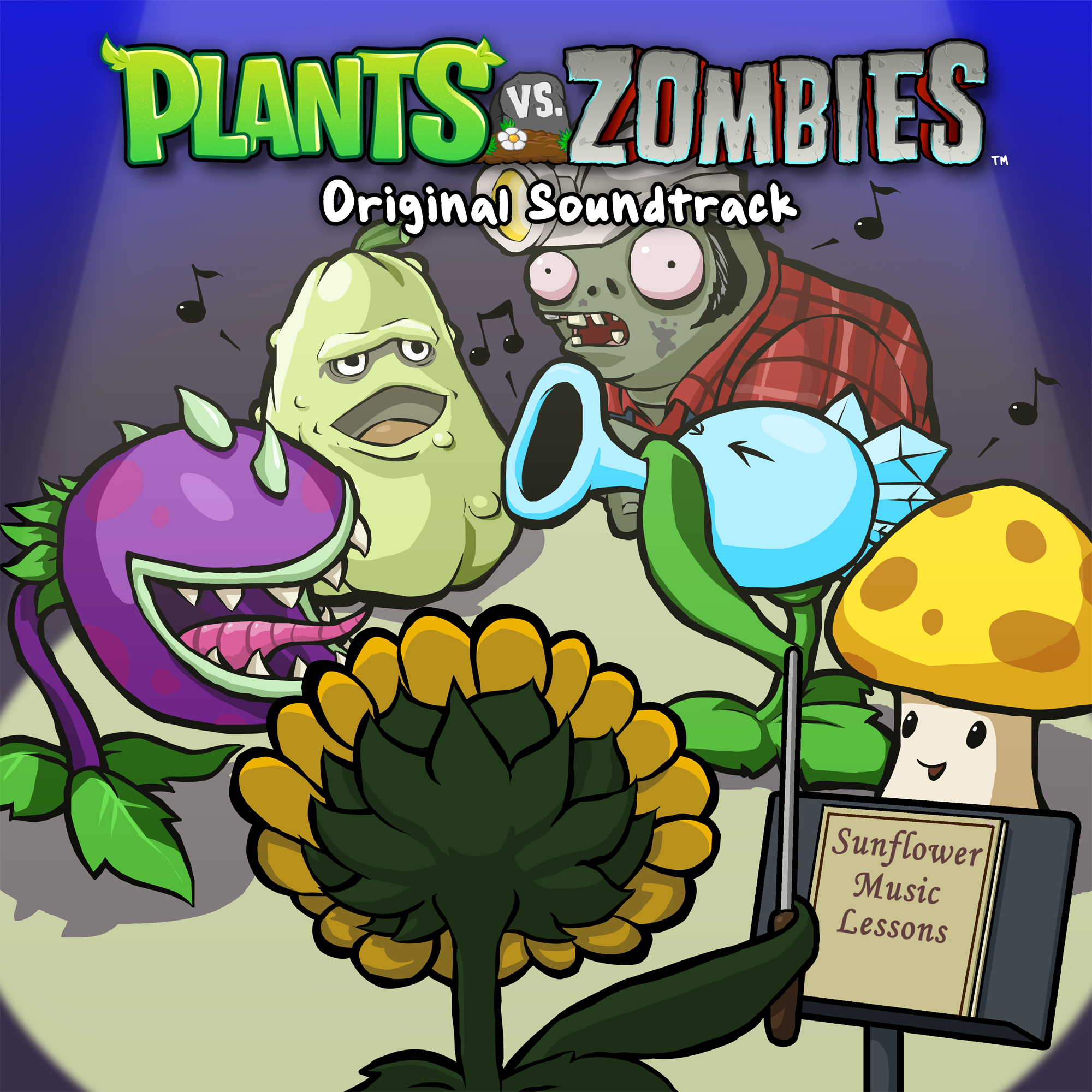 Plants vs zombies original soundtrack