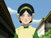 Toph&#39;s makeup