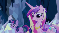 Princess Cadance thinking ideas S2E26