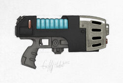 Plasma Pistol color