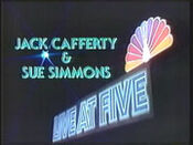 WNBC-TV's News 4 Live At 5 Video Close From Monday Evening, June 6, 1983