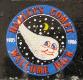 Halley&#39;s Comet Hood Emblem 20120707 JSCC