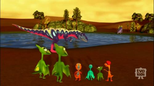 Image - African Allosaurus.png - Dinosaur Train Wiki