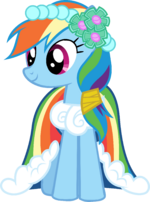 Canterlot Castle Rainbow Dash 6