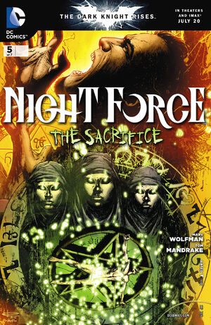 Cover for Night Force #5