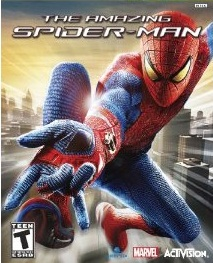 The Amazing Spider Man 2012 video game cover