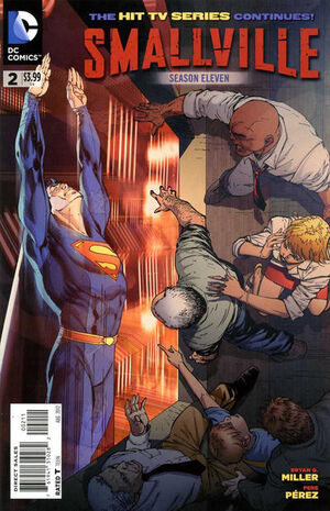 Cover for Smallville Season 11 #2