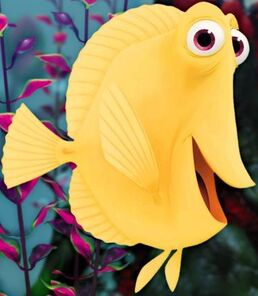 Bubbles disney wiki for Finding nemo fish names