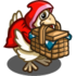 Big Red Riding Chicken-icon