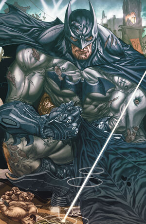 Cover for Batman: Arkham Unhinged #4