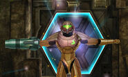 Sunchamber Samus Power gets varia suit close up dolphin hd