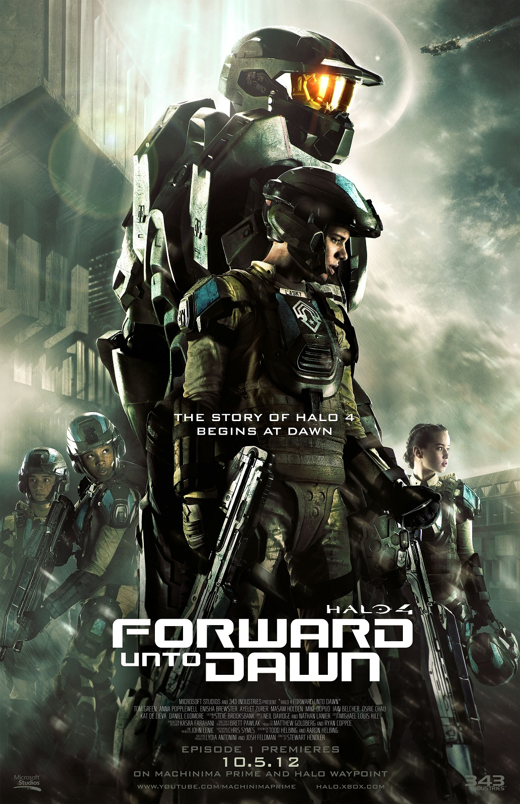 Serie Halo 4 Forward Unto Dawn Legendado